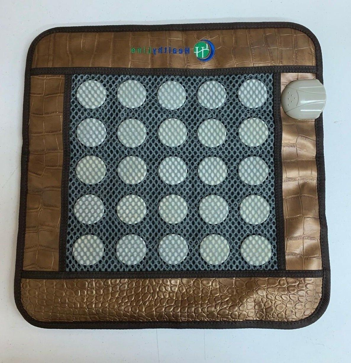 healthyline jade heated pad negative ions fir