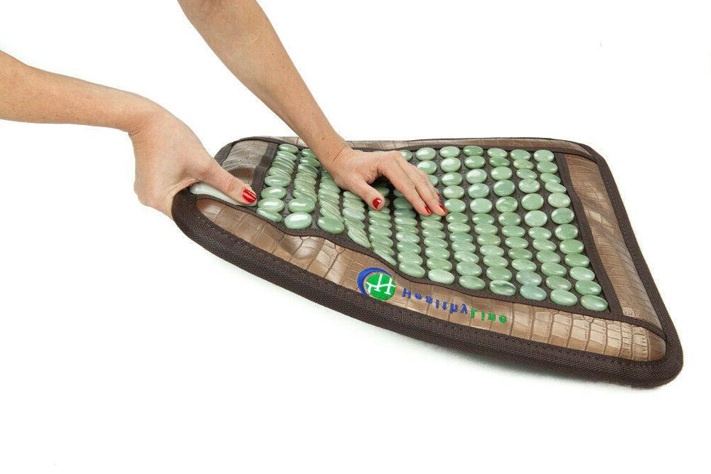 "HealthyLine Natural Jade Heating Pad 20""x20"""