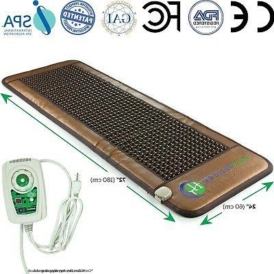 healthyline natural tourmaline ions infrared heating multi