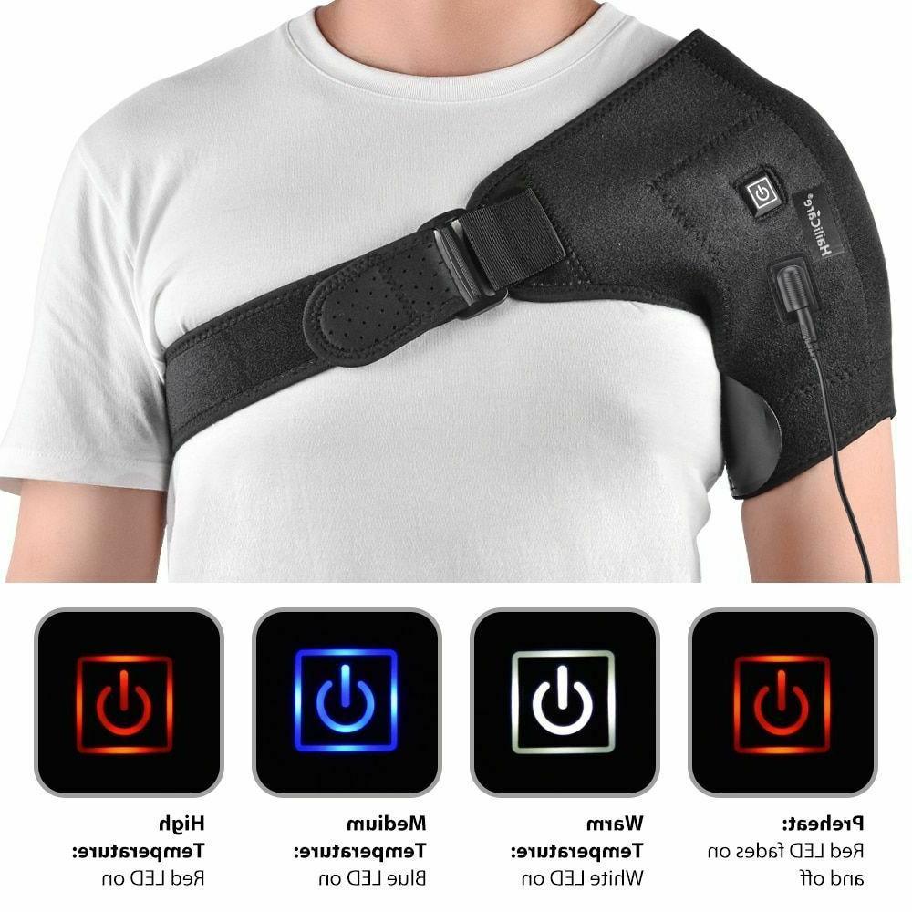 Hot Adjustable Shoulder Heating Pad Frozen Shoulder Bursitis