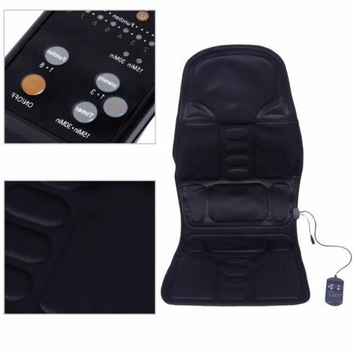 Heated Seat Cushion Massager Pad Heater
