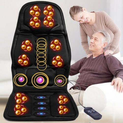 Heated Back Cushion Car Seat Massager Heater