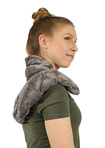 Heated Microwaveable Neck Shoulder Hot/Cold Deep Penetrating Herbal Aromatherapy
