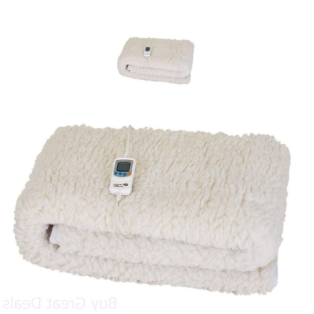 Heated Warming Massage Table Heater 1in Thick Fleece Foam Wa