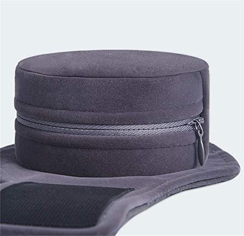 LUCKY CLOVER-A Seat 6pcs Smokeless Mugwort Moxibustion Box Set Pad, Back Chair Car