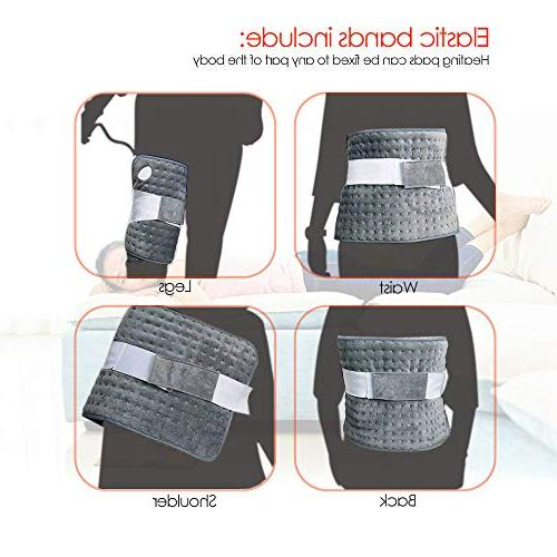 Heating Pad, Ultra-Large Pads for Heating Touch, Band Storage