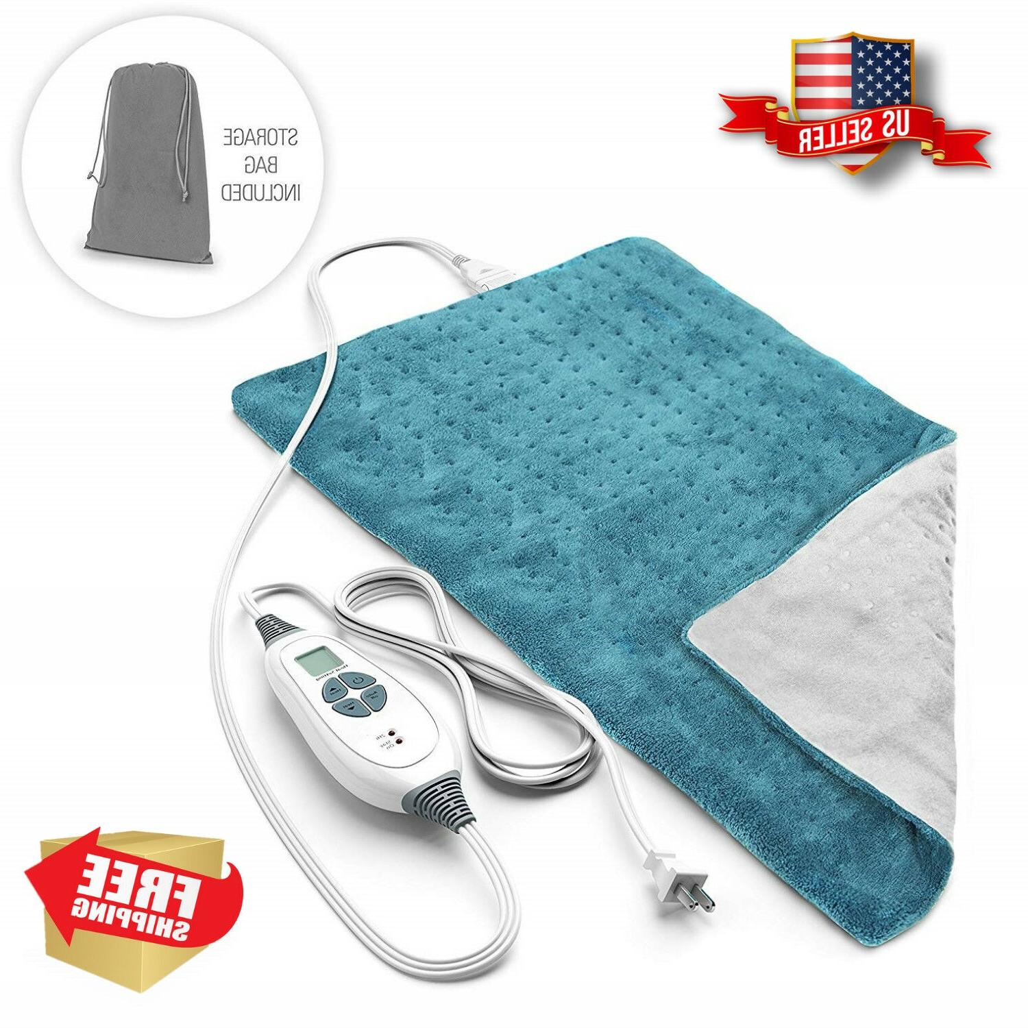 Heating Pad Extra Large Pain Relief Healthy Therapy Moist He