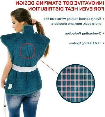 Heating Pad for Neck and Wrap for Relief