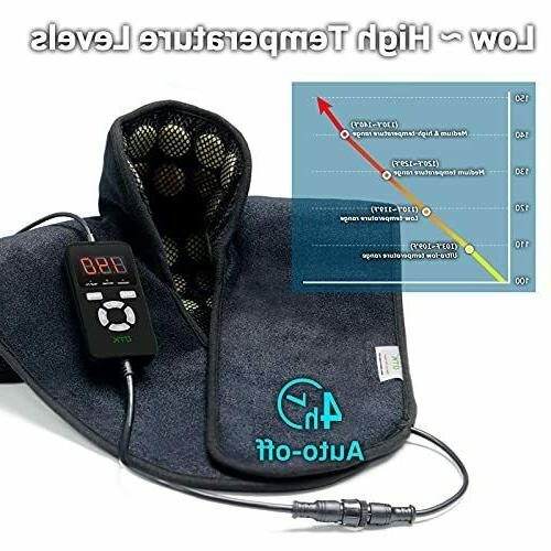 UTK Heating for Neck and Far Infrared Natural Jad
