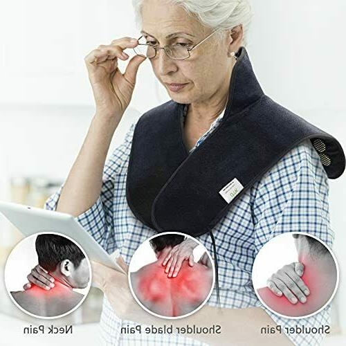 UTK Heating Pad for Neck Shoulders,NO Far Infrared Natural