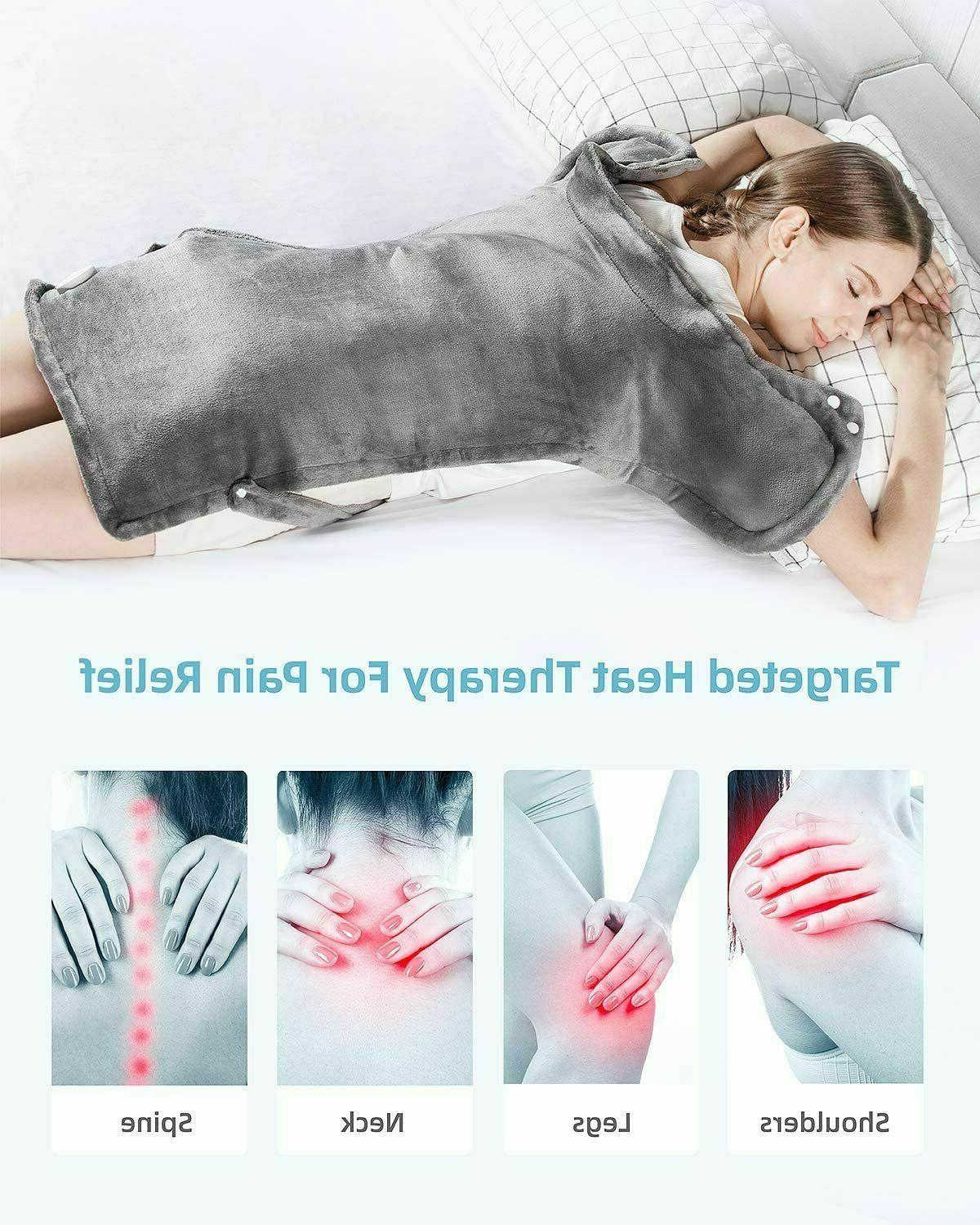 Heating Pad for Neck and XXX-Large Electric Heating