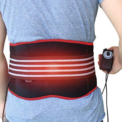 heating pad lumbar support back