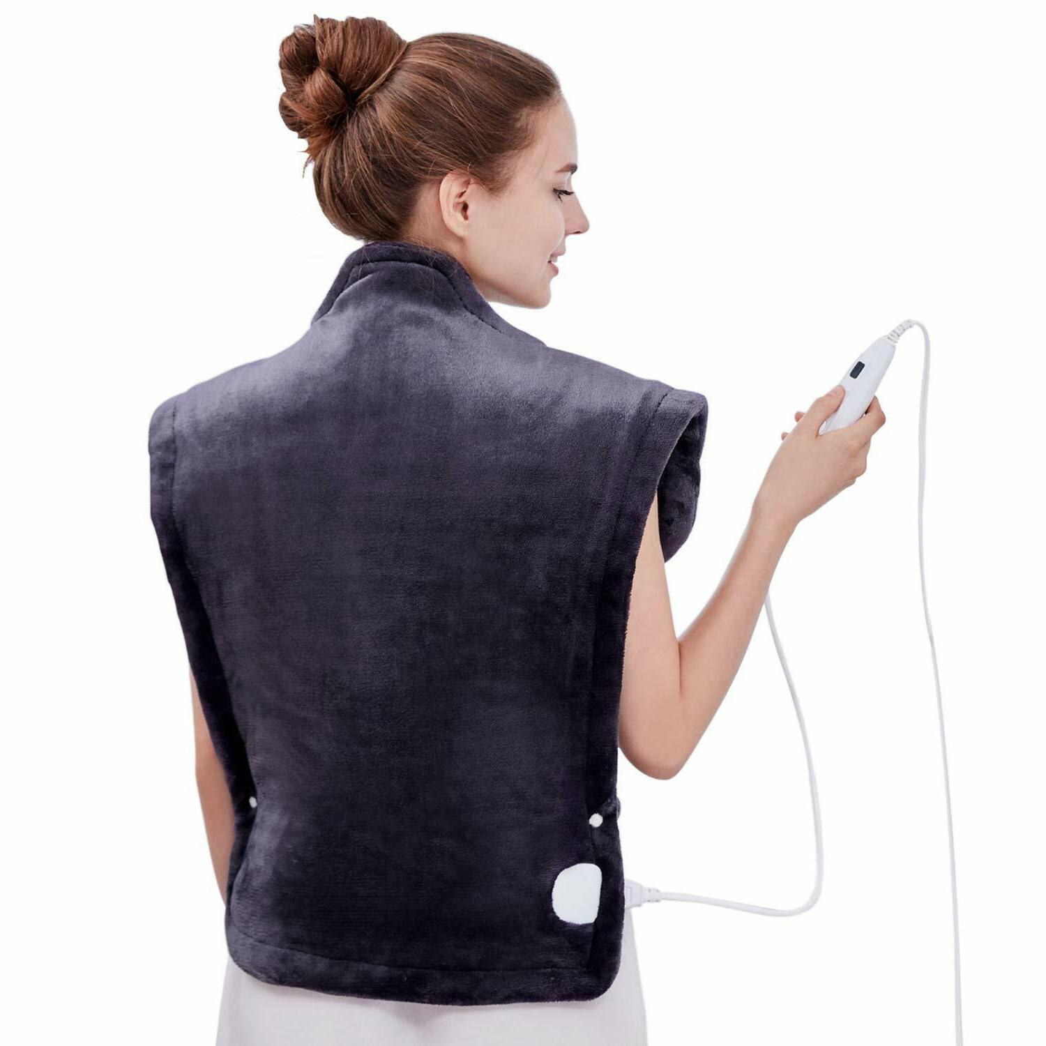 heating pad wrap for neck shoulders whole