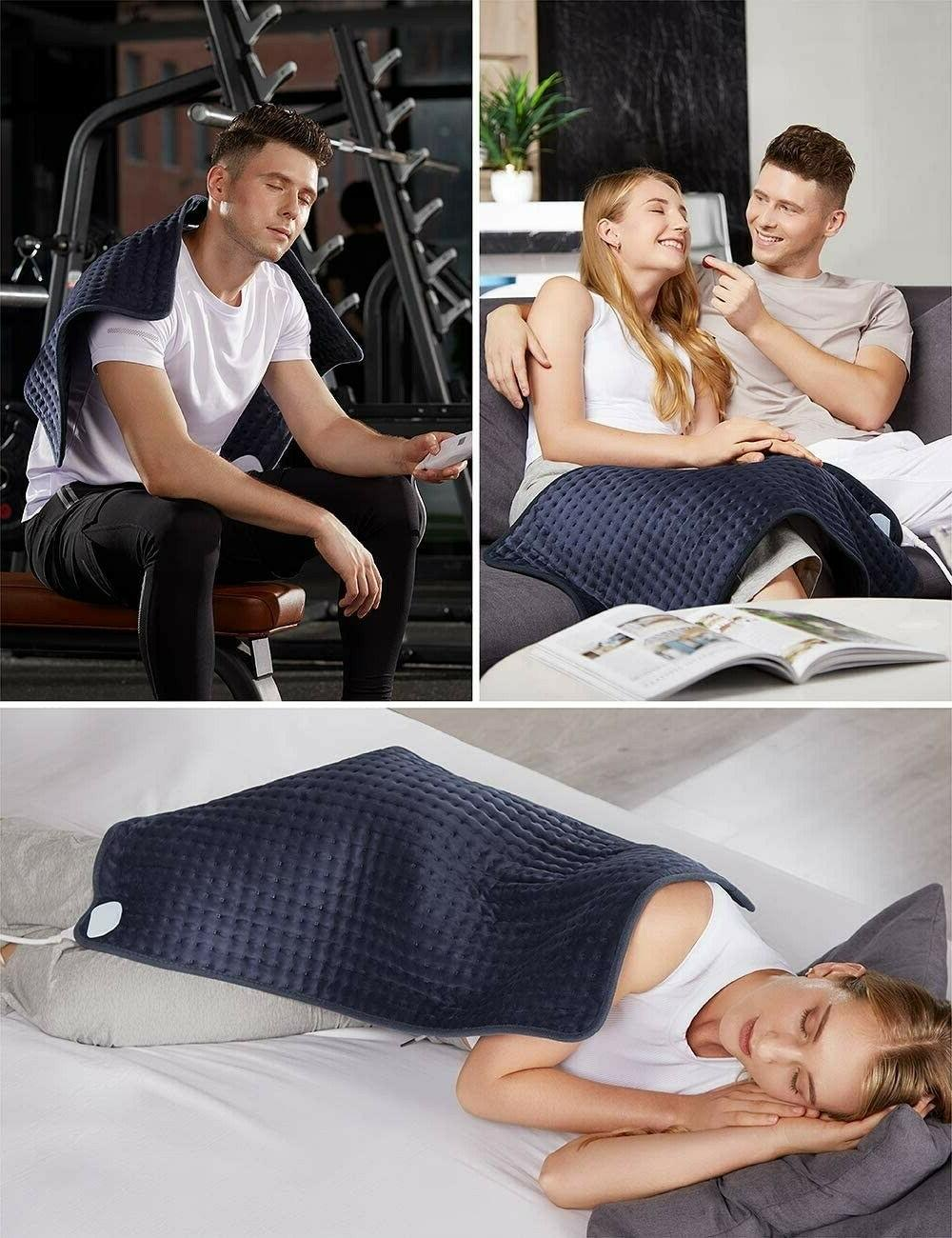 Homech Pad Back Pain and Cramps - XXX-Large Ultra-Sof