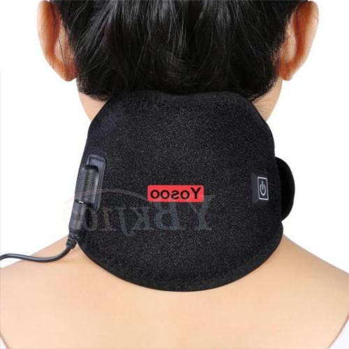 hot therapy pack heated neck heating wrap