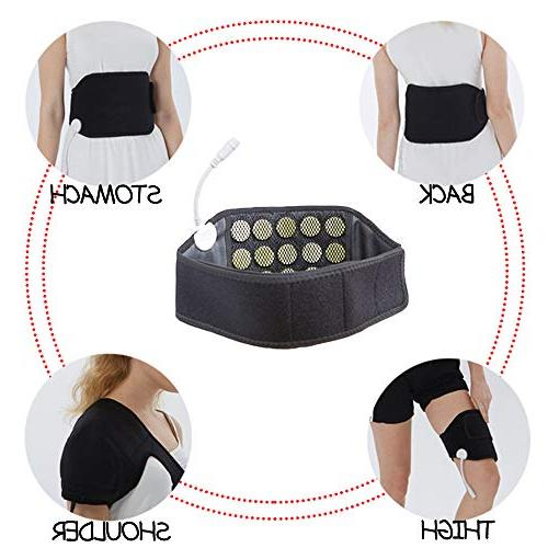 UTK Infrared Jade Waist Belt for Lower Far Therapy for Stomach Pain,