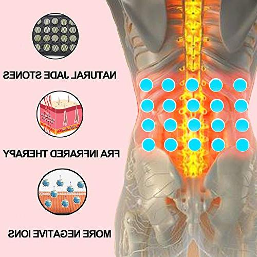 UTK Waist Belt Back Pain Far Infrared Heating Therapy Stomach Pain, Off, Temp