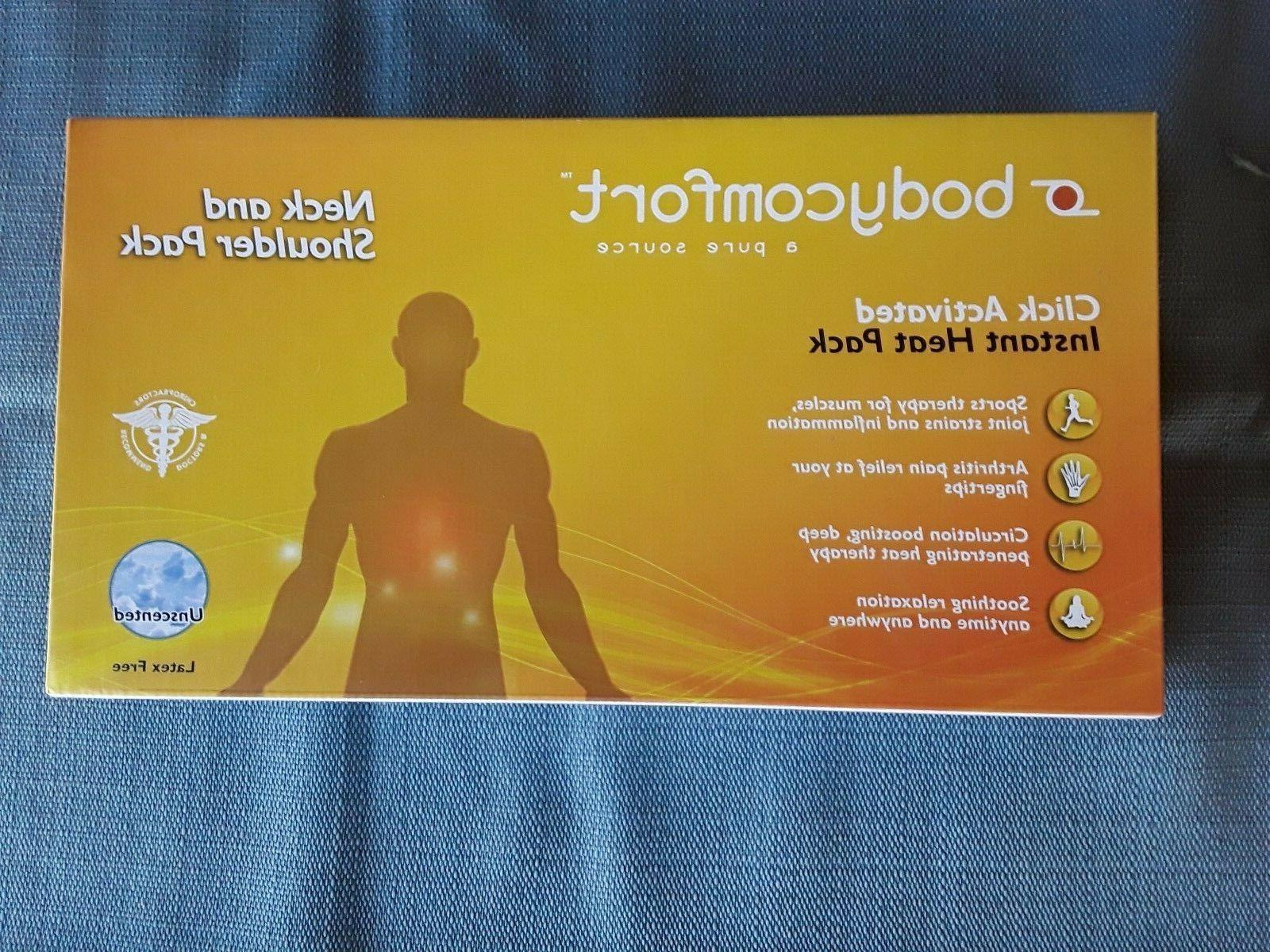 Body Comfort Instant Heat Pack  Latex Free NEW