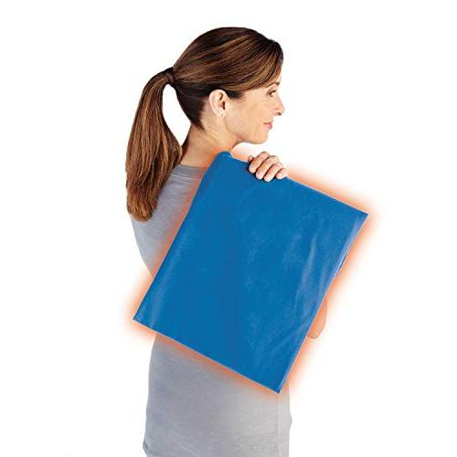 Sunbeam Heating | Pain | Size UltraHeat 3 Settings Newport Blue, 12-Inch 24-Inch