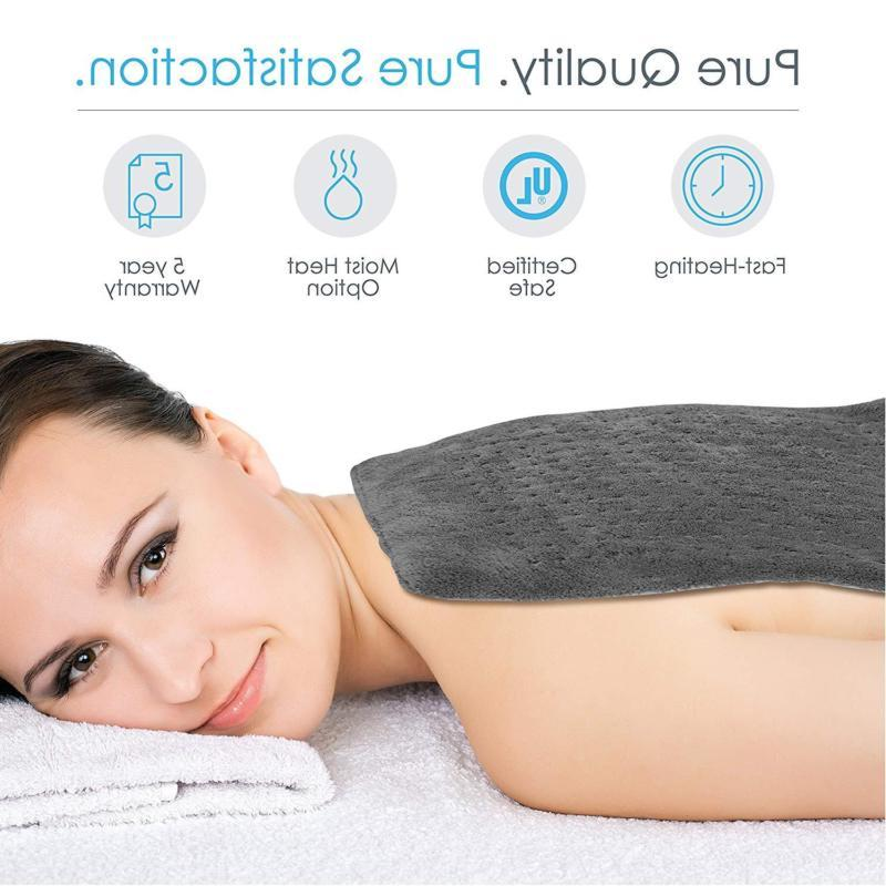 King Pure XL -Fast-Heating Washable Pad
