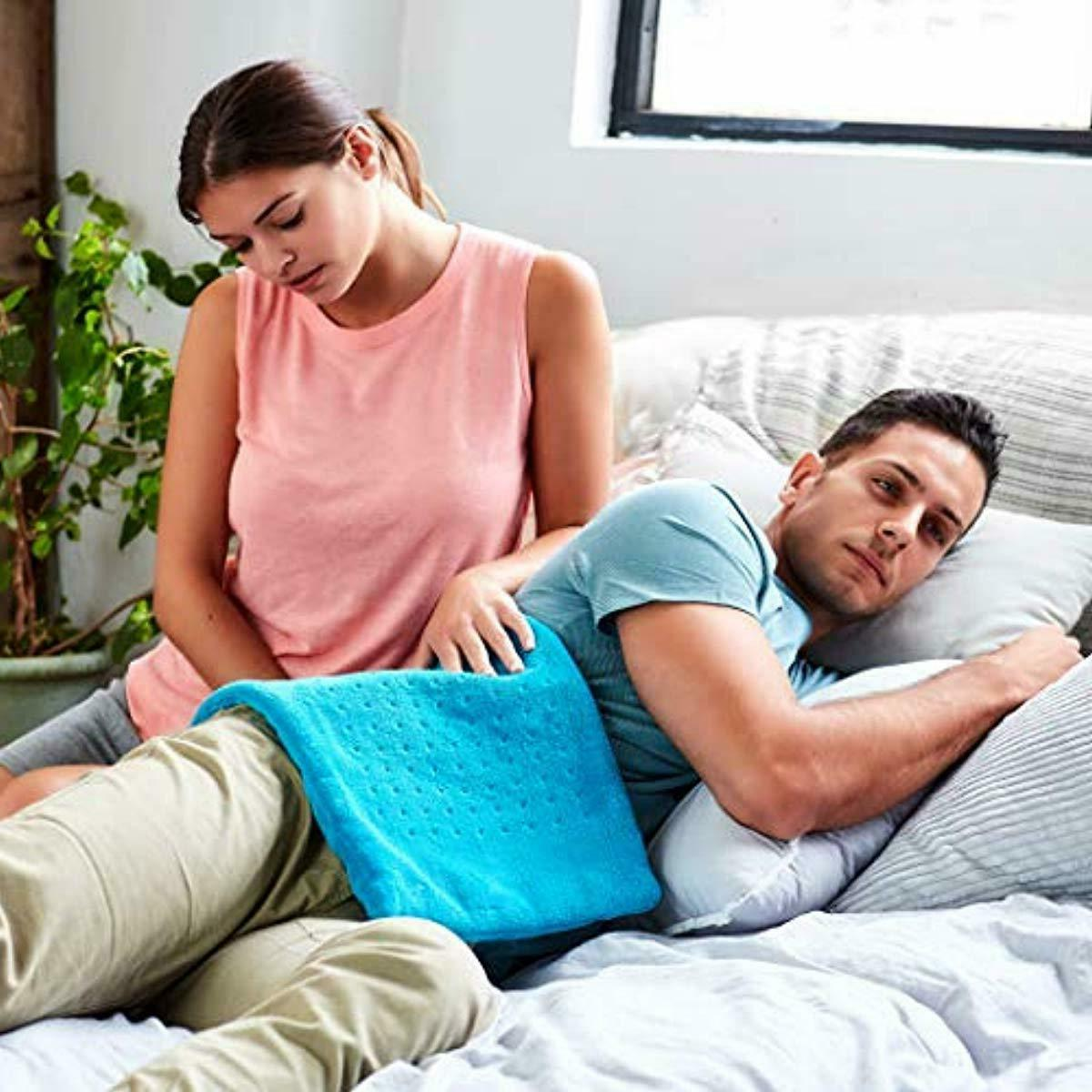 MIGHTY BLISS™ Heating Pad Back Pain and Cramps Relief -Extr