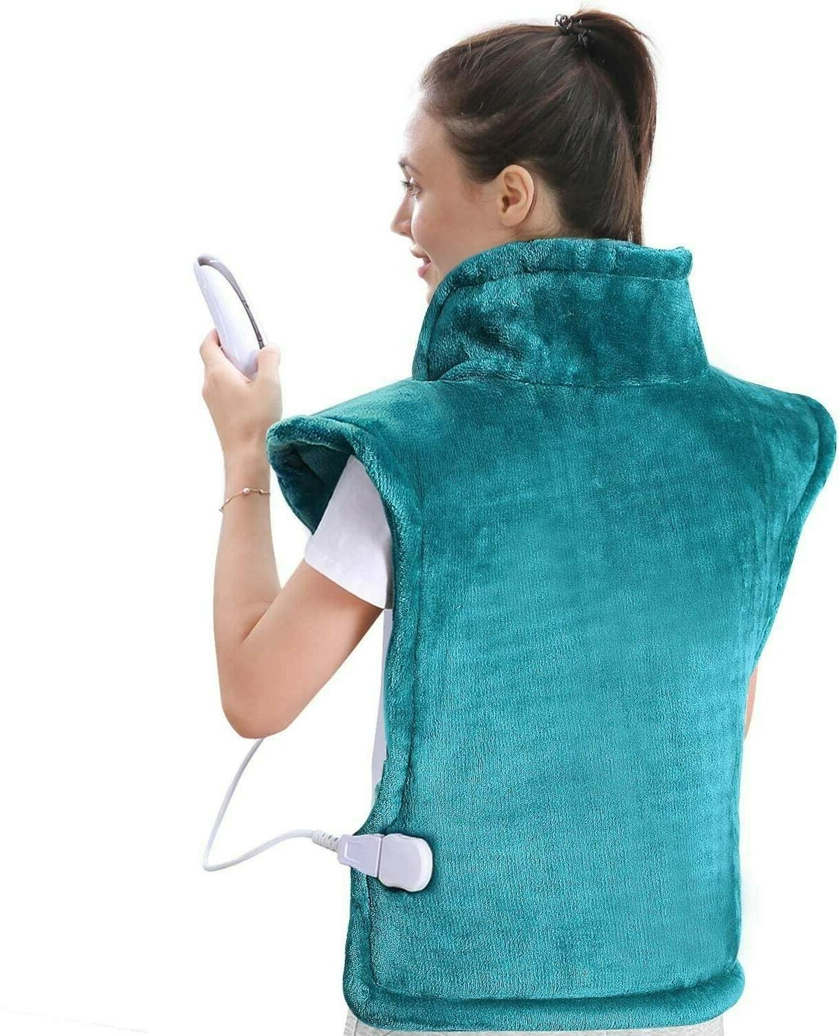 """MaxKare Heating for Back and Shoulder, 24""""x33"""" Lake Green"""