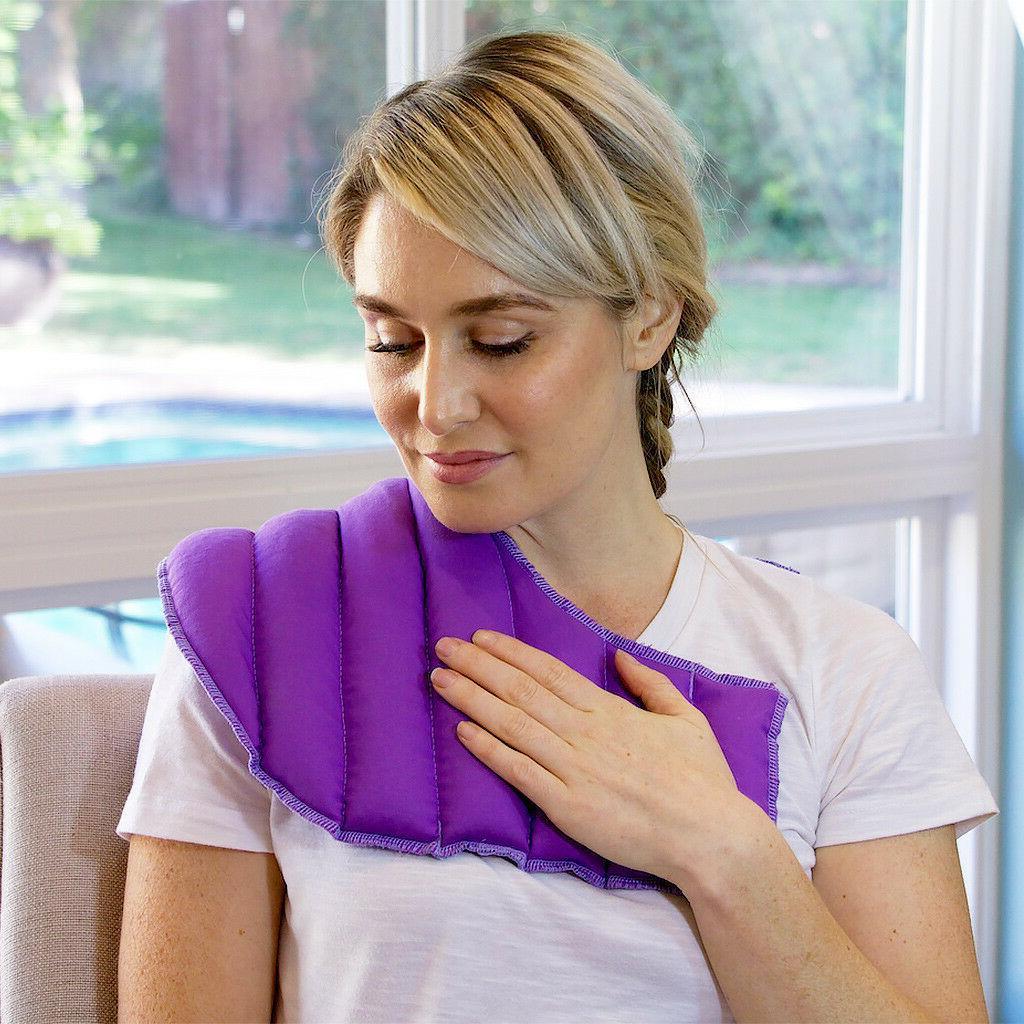 natural and reusable neck and shoulder lavender