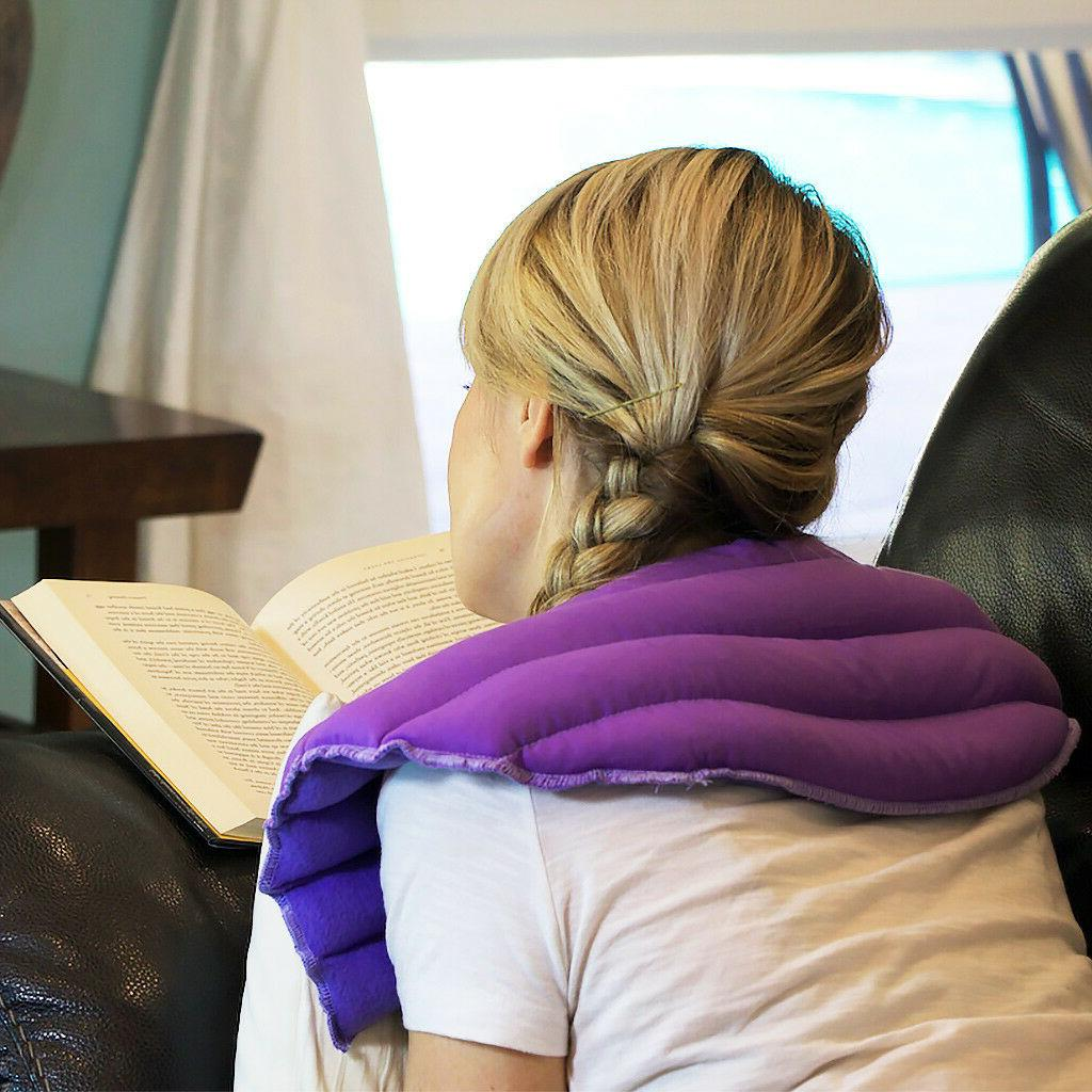 Natural & Reusable Neck & Shoulder Reliever-My Heating Pad-Purple