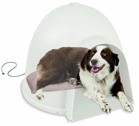 K & H Lectro-Soft Igloo Style Heated Pet Bed
