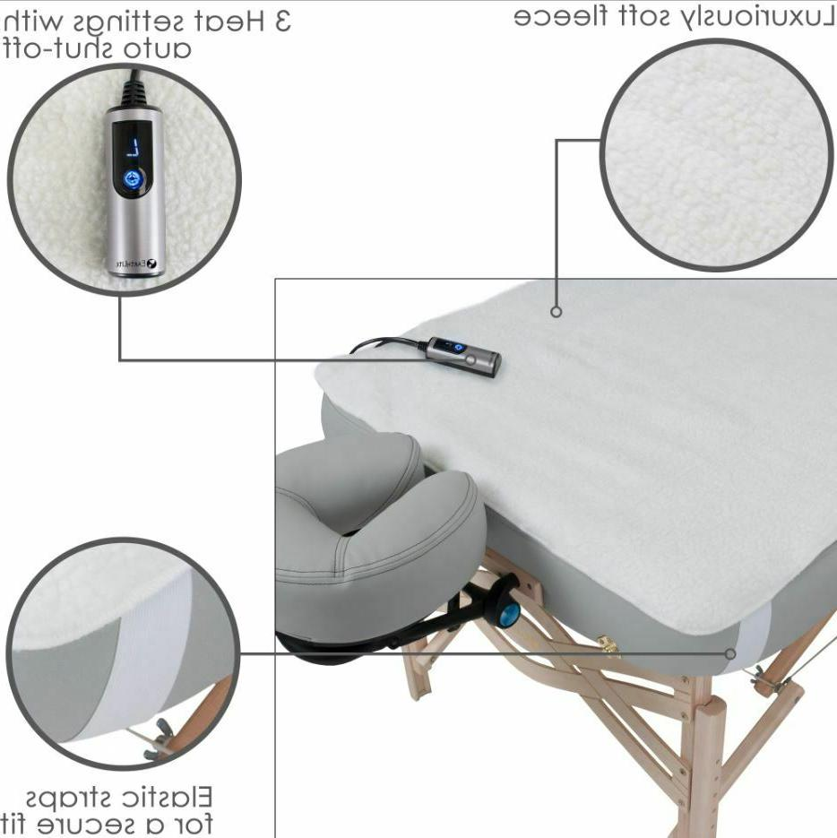 Massage Table Heating Pad Fleece Cover Commercial Electric