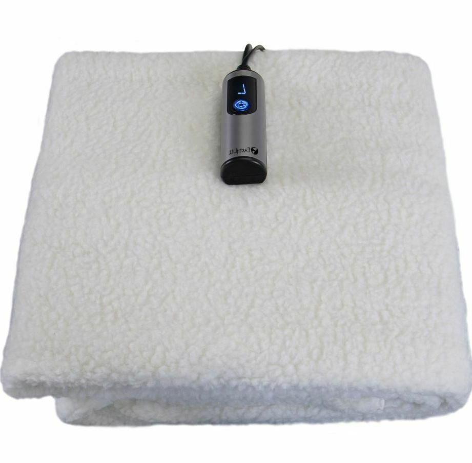 massage table heating pad fleece blanket warmer
