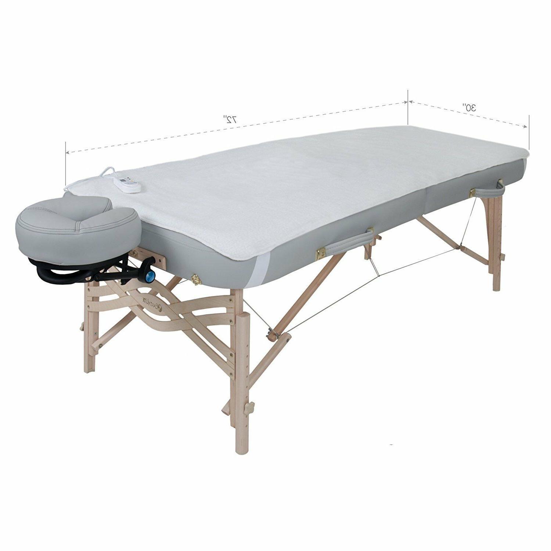 Massage Fleece Heating Settings Corner Straps