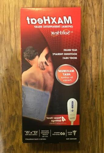max heat moist heat heating pad optimal