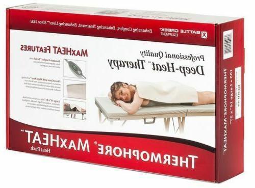 maxheat heating pad 14 x27 inches model