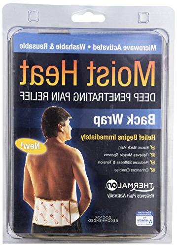 "Thermalon Microwave Moist Heat Therapy Ties for Shoulder, 7"" x"
