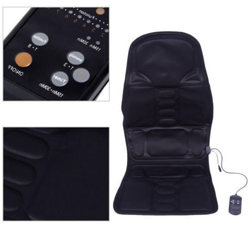 Mulifunctio Heated Massage Cushion Car Seat