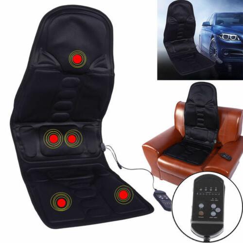 Mulifunctio Heated Seat Cushion Massager Lumbar Neck