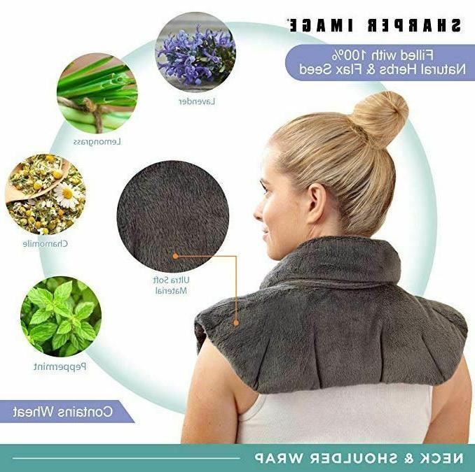 Shoulder Wrap Microwavable Herb