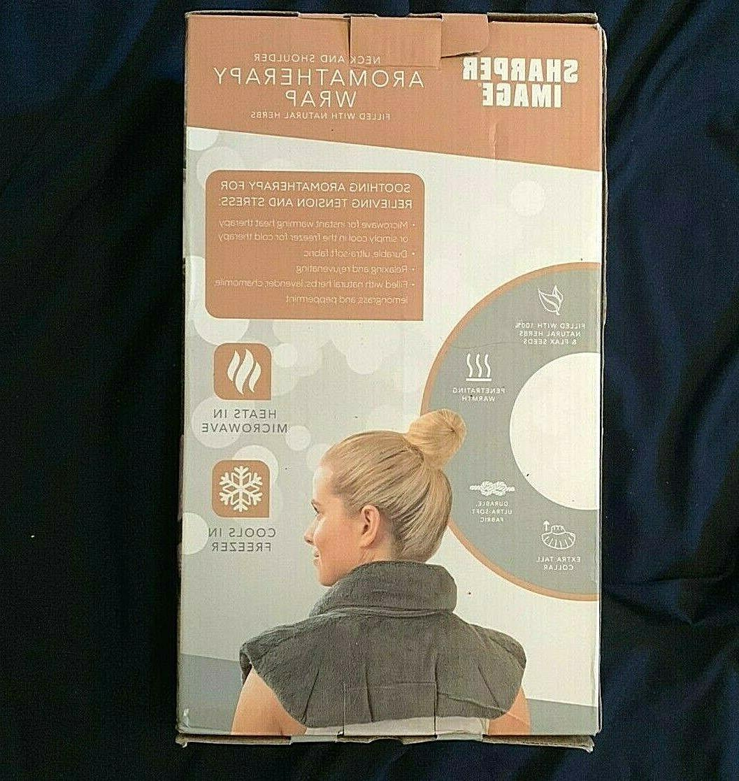 neck and shoulder wrap hot cold microwavable