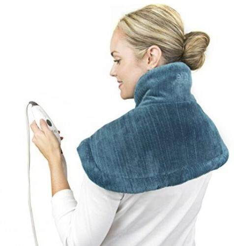 Neck and Shoulder Heating Pad W/ Fast Heating Technology Mag