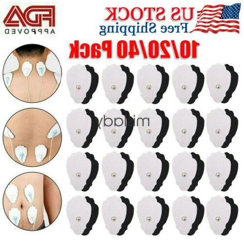 Pack Replacement Electrode Pads TENS Unit & Massager