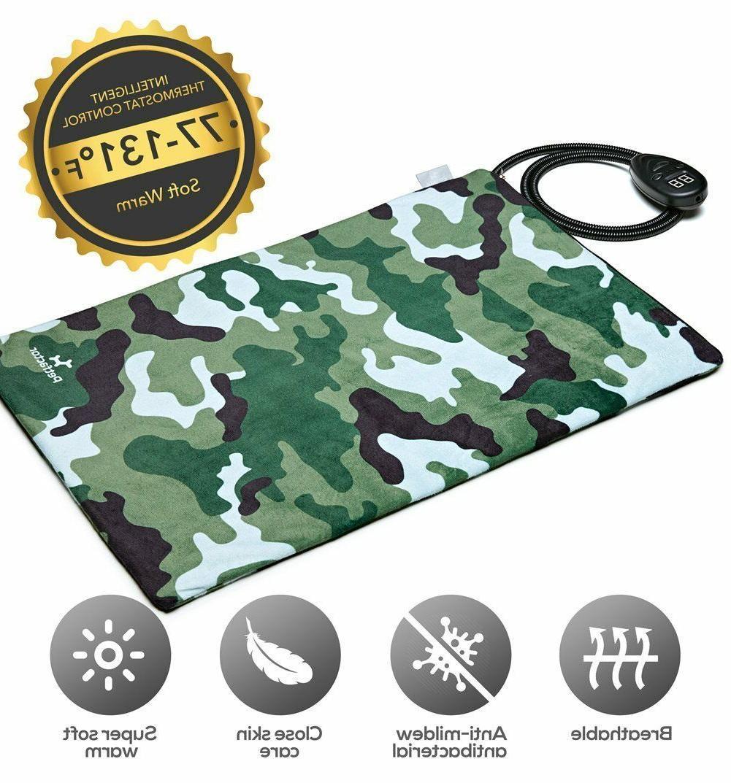 Petfactors Pet Heating Pad Pet Bed Warmer Heater Adjustable