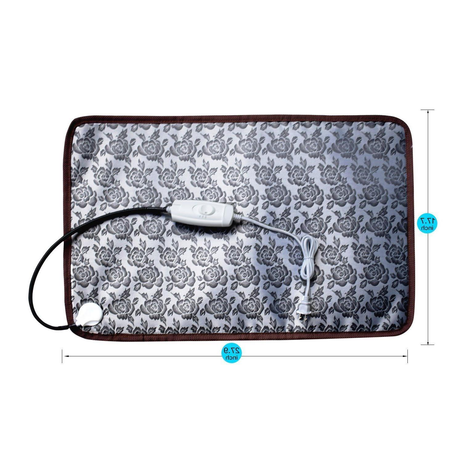 Pet Dog Heated Bed Mat Electric Chew Resis Steel
