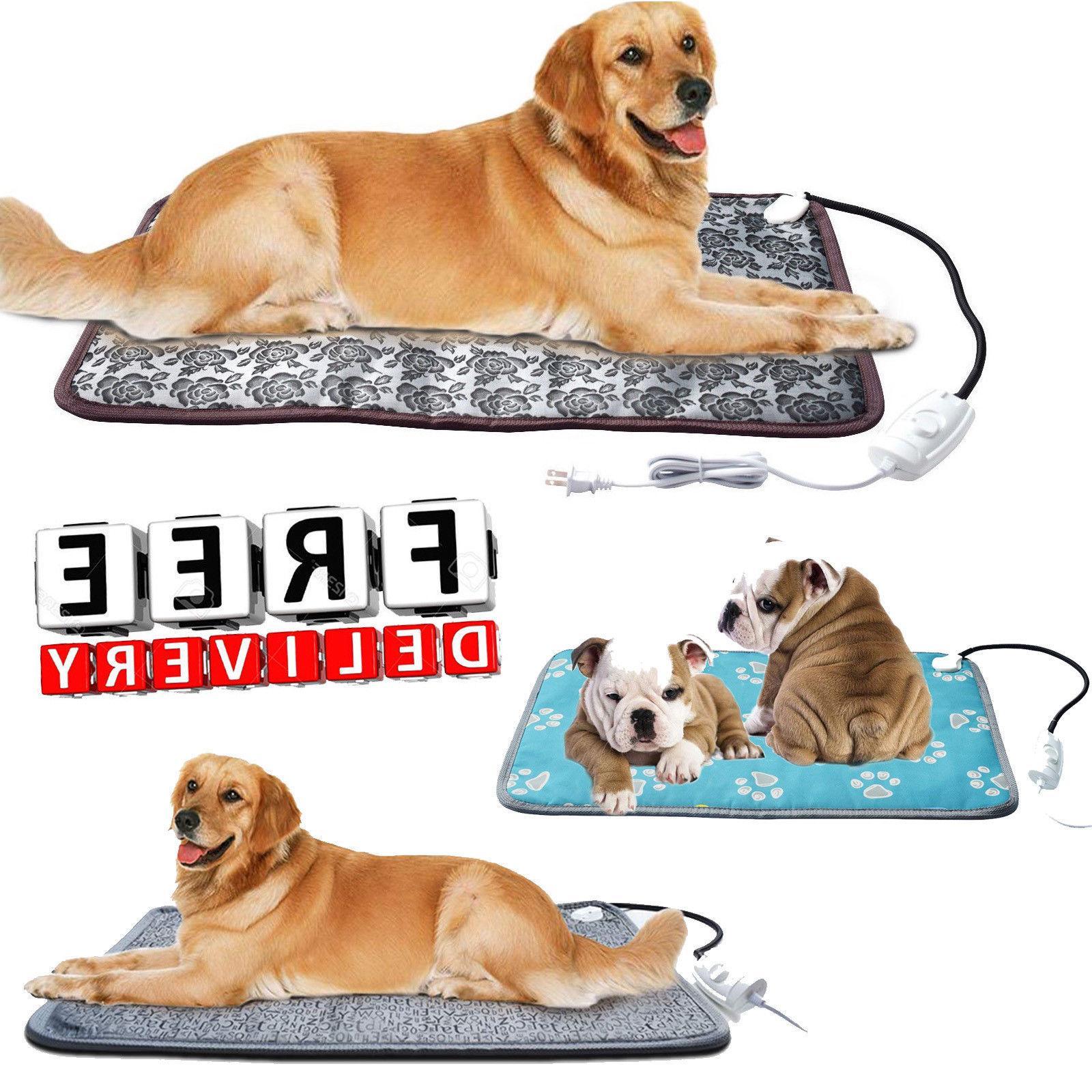 pet heating pad cat dog heated bed