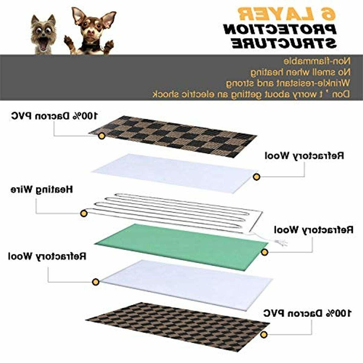 Pet Heating Electric Mat Heated Pad Ind