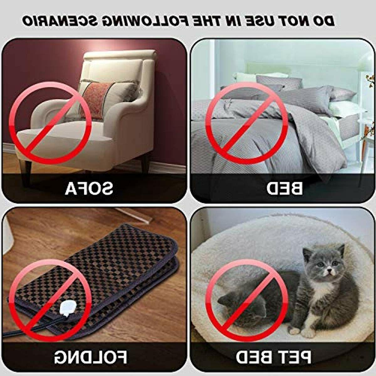 Pet Pad Cats Heater Electric Pet Heated Pad Ind
