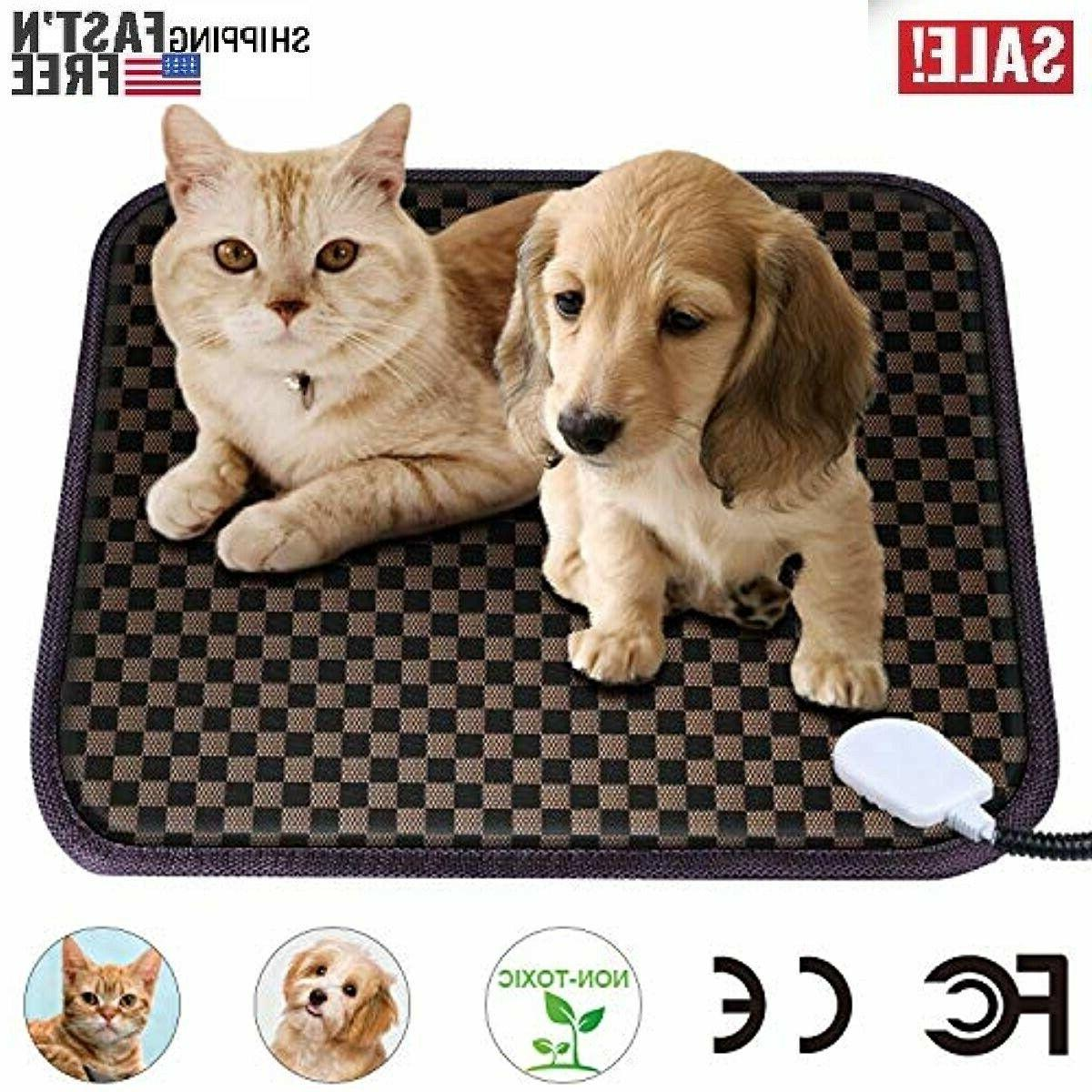 pet heating pad for cats dogs pet