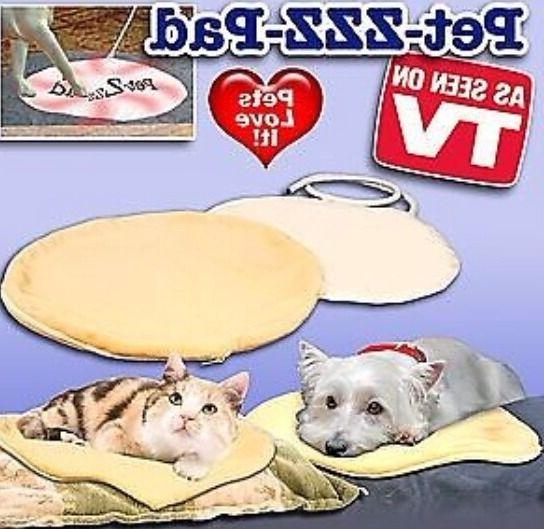 NEW Small Pet-ZZZ-Pad Heating Pad For Pets AS SEEN ON TV Pet