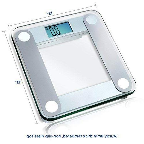 EatSmart Digital Scale with Extra Large Tape Measure Included