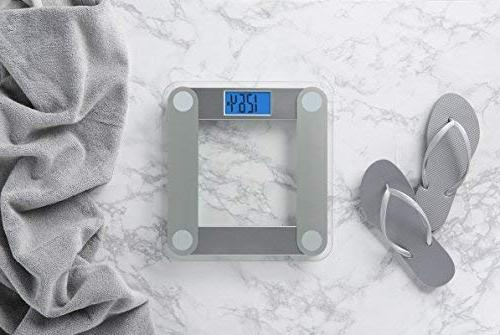 Scale Large Lighted Display, Tape Measure Included